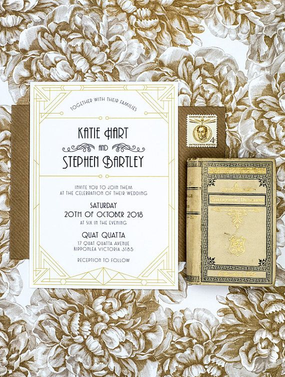 Wow Your Guest With This Grand Wedding Invitation Template