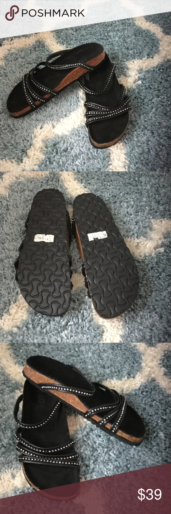NEW 🎉🎊🎀🎁Sandals size 10 UK 8 New never used not birkenstock but similar style.please check my other 👠 as I have tons of them Birkenstock Shoes Sandals