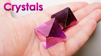 DIY Crystal at Home (1) - Alum - YouTube                                                                                                                                                                                 More