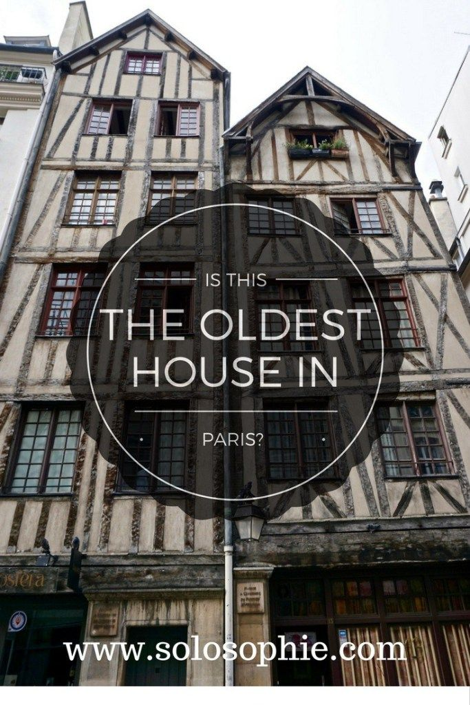 Oldest House in Paris (le Marais)  Step back in time