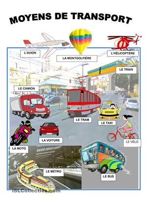 Epingle Par Neaboj Sur Outils Fle Moyen De Transport Transport Fiches Pedagogiques