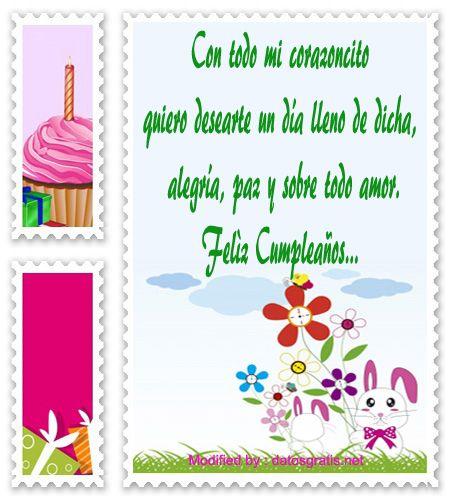mensajes de cumpleaños para enviar por Whatsapp,mensajes de cumpleaños para facebook: http://www.datosgratis.net/frases-lindas-de-cumpleanos-para-un-amigo/