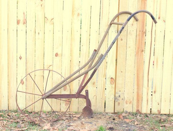 One of my grandma's used a hand plow to cultivate her