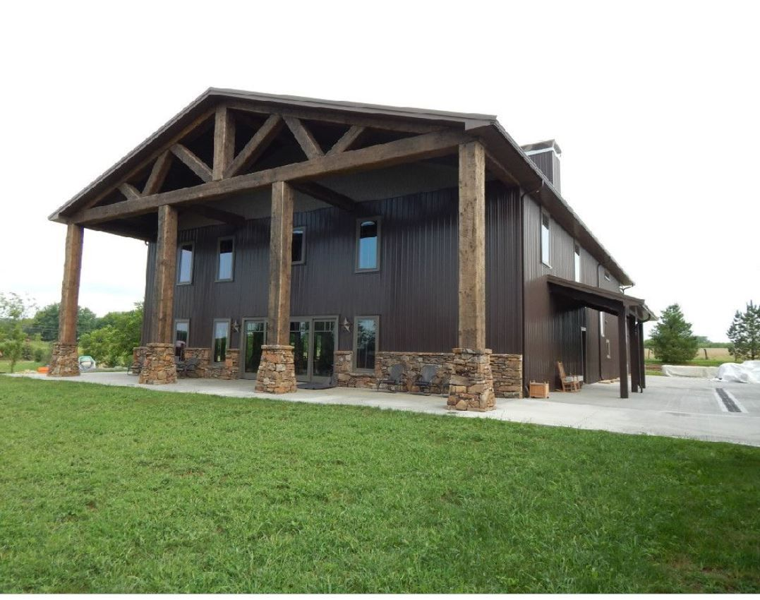 Top 5 Most Beautiful Steel Homes Metal Building Answers Barn Style House Metal Building Homes Barn House Plans