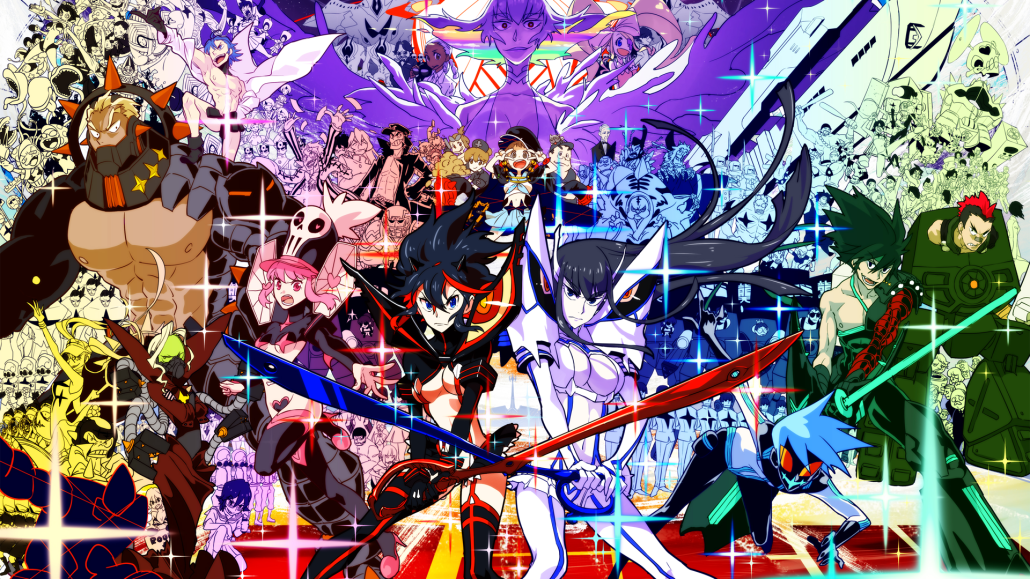 Kill La Kill beyond the fanservice Anime World At the