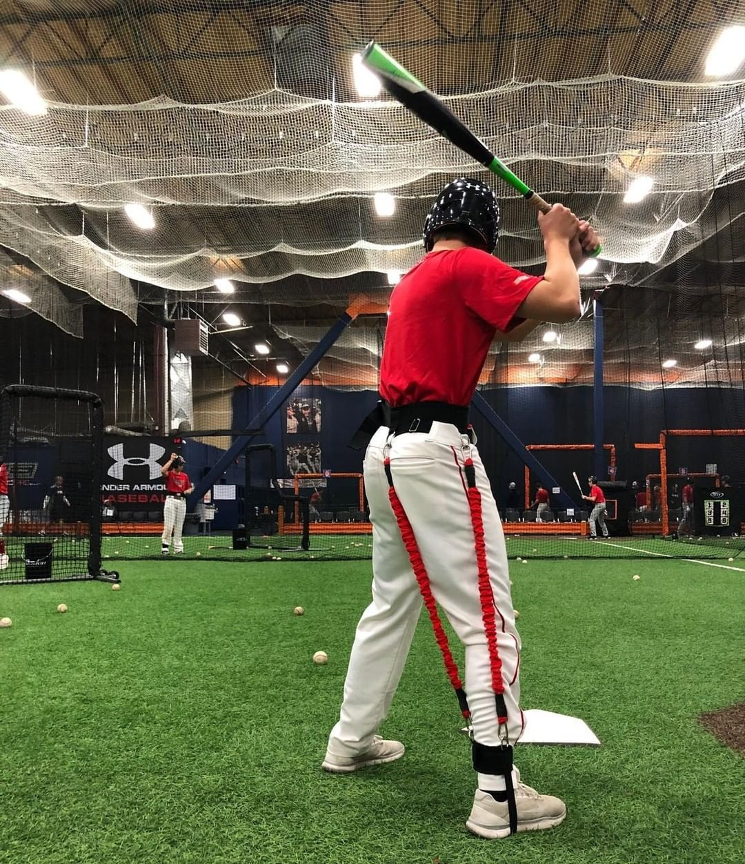 Strap In Clip Up And Watch Your Untapped Power Unlock Visit Www Veloprobaseball Com Today And Find Out Hit Training Baseball Training Major League Baseball