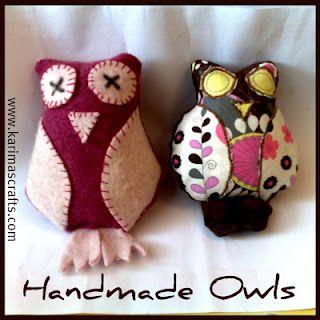 owl softie tutorial