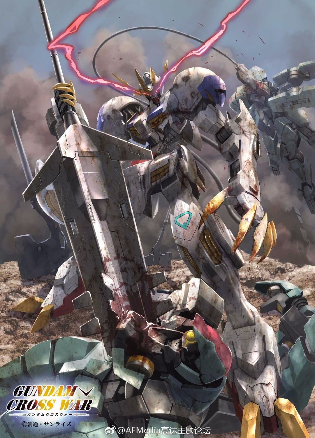 Gundam Cross War Mobile Phone Size Wallpapers Gundam Gundam