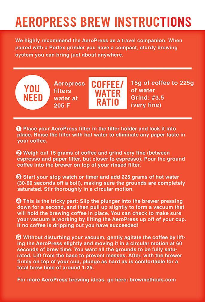 Aeropress Coffee On The Go Coffee Pinterest Aeropress Coffee