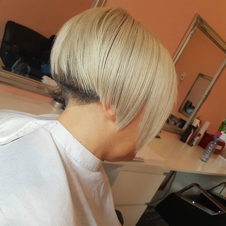 #undercut #haircut#funkyhair #modernbob#freestyle !💙 (с ...