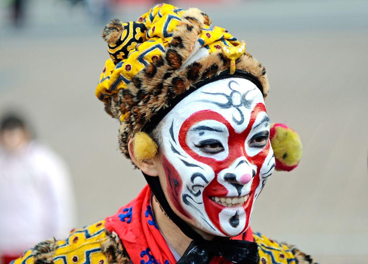 Chinese Opera Face Paint
