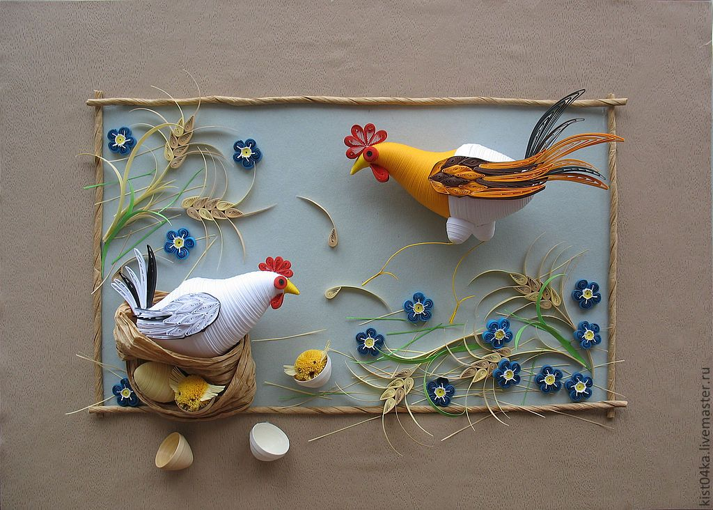 Chicken Themed Kitchen so fun for a chicken themed kitchen or morning room! | paper class