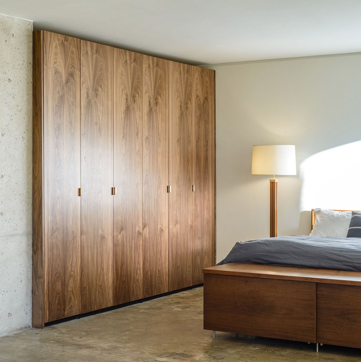 Semihandmade Walnut Pax Doors Ikea closet doors, Ikea