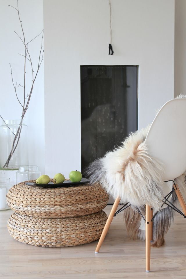 alseda ikea puf 22 € | DECO. RINCONES | Pinterest | Living rooms ...