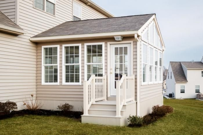 Sunrooms house with siding google search ideas for the for 3 season sunroom designs