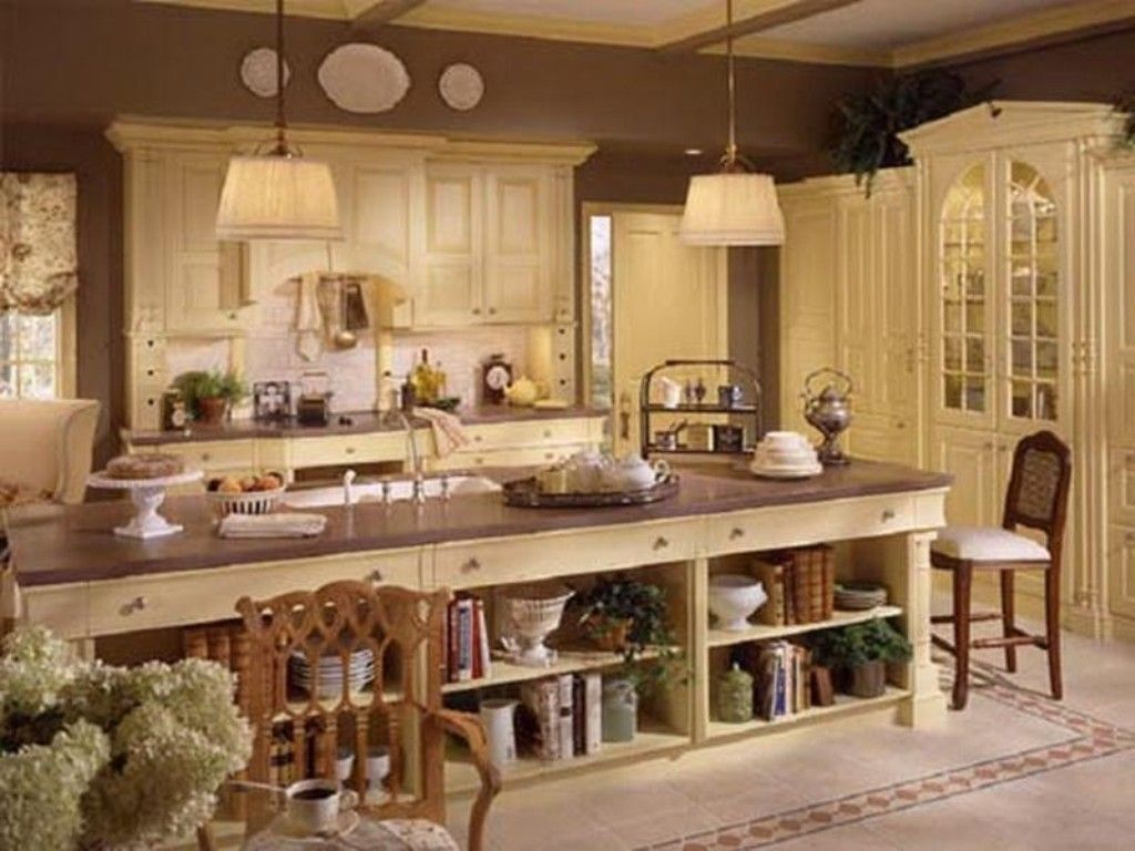 French Country Kitchen Design Trends With Adorable
