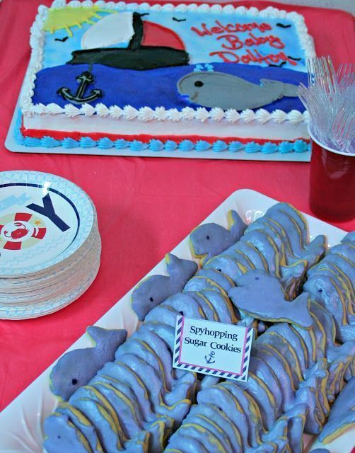 Nautical Baby Shower #OrientalTrading
