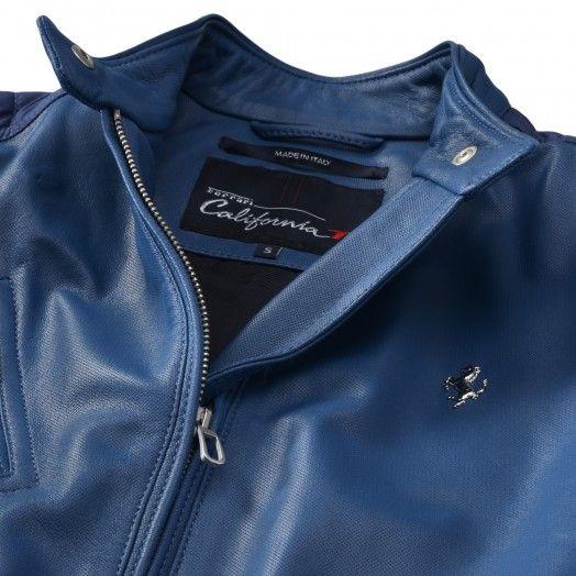 Ladies Ferrari California T Leather Jacket California T Clothing Ferrari California T Ferrari California Jackets
