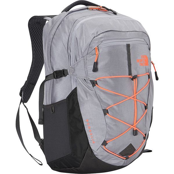 88fdeca18b The North Face Women's Borealis Laptop Backpack ($76) ❤ liked on Polyvore  featuring bags, backpacks, grey, laptop backpacks, the north face, the  north face ...