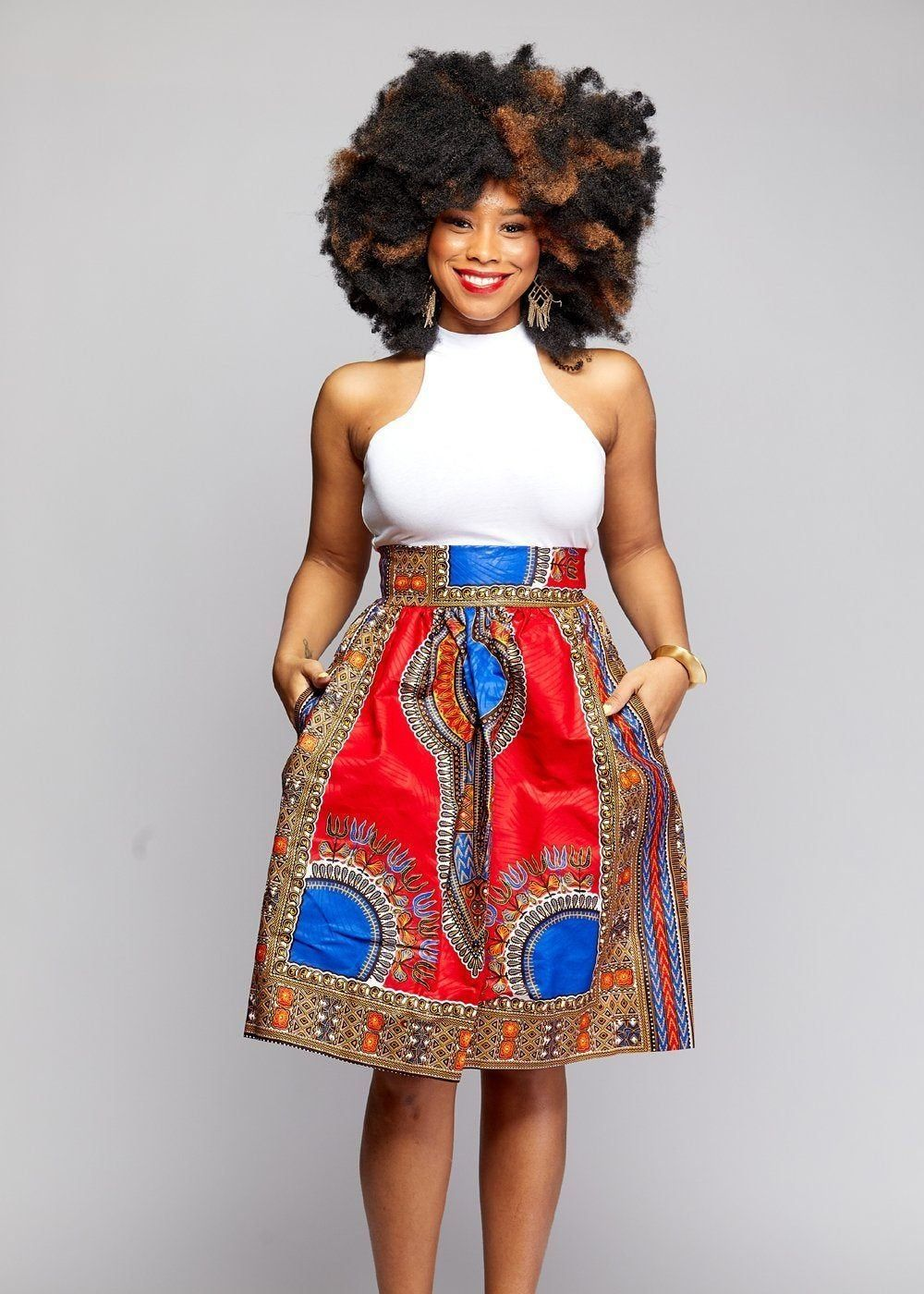 1f849e45e 23 hottest African print skirts | Looking for the best & latest African  print skirts this