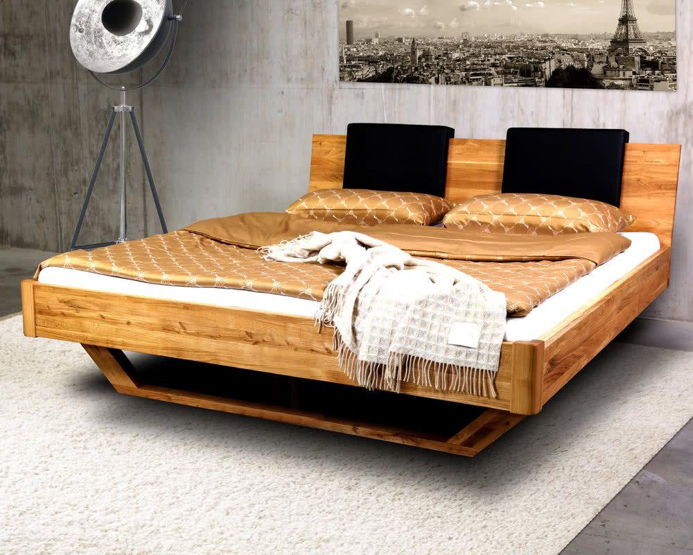 Massivholz Dolce Vita Wildeiche Bett Artikelbild Haus Deko Eichenbetten Bett