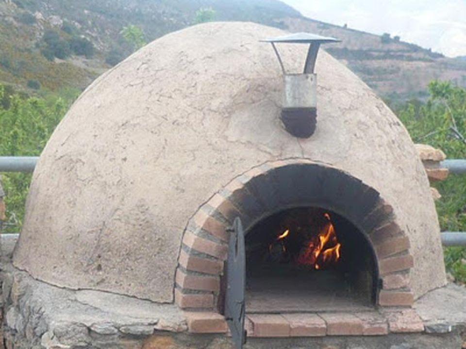 como hacer un horno de barro - Taringa! Casas de campo simples
