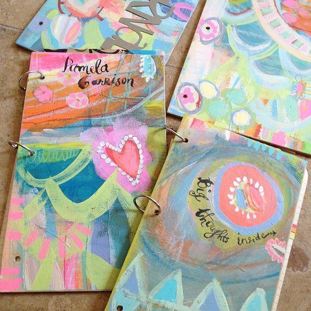 Great little art journals by Pam Garrison #artjournals by pam garrison, via Flickr