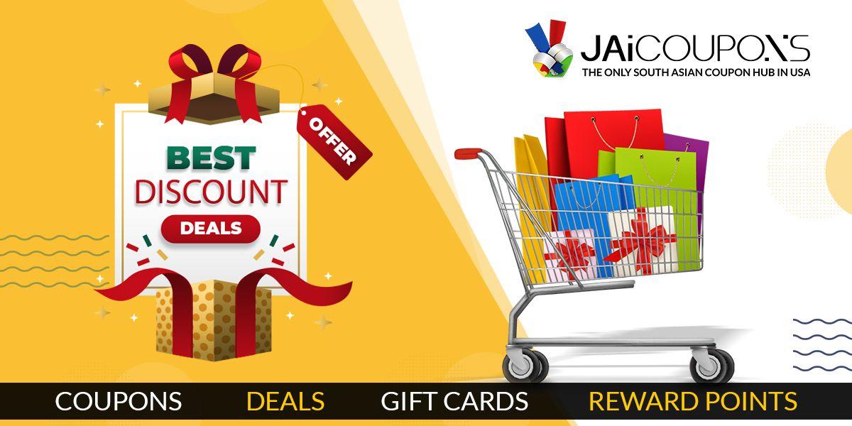 Grab Best Discount Deals at JAiCOUPONS in 2020 Discount