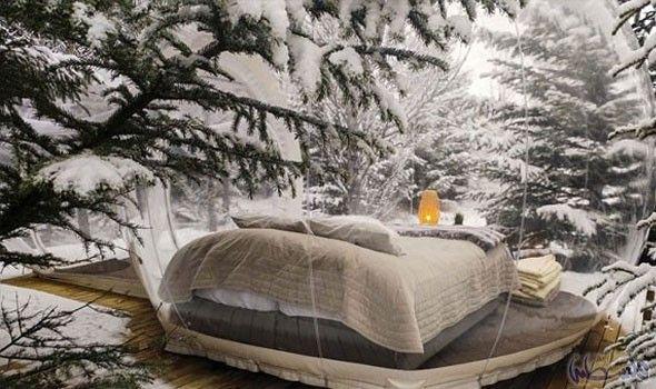 غرف شفافة للراغبين في النوم تحت النجوم في أيسلندا Iceland Hotels Northern Lights Hotel Northern Lights Iceland