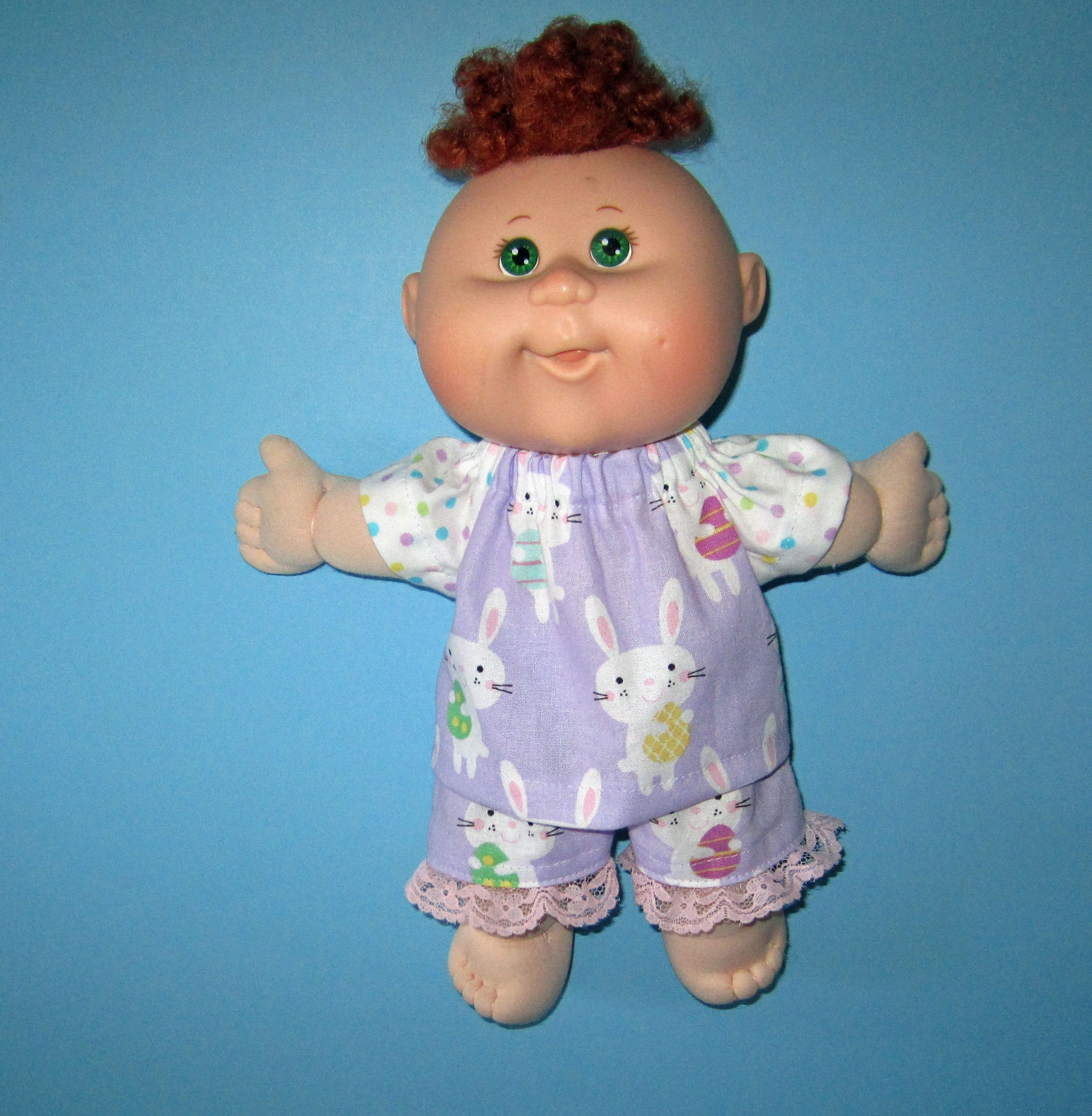 Cabbage Patch Newborn Surprise Doll Clothespurple Easter Etsy Cabbage Patch Babies Purple Easter Cabbage Patch