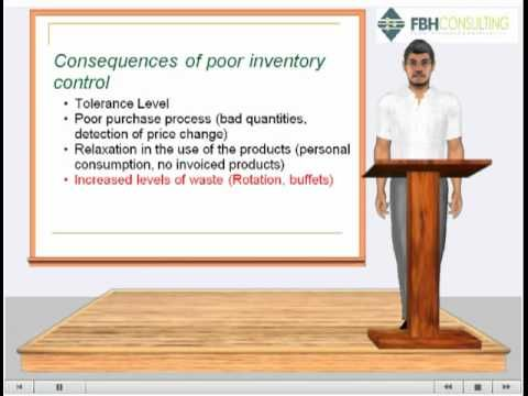 Inventory Control TEKS: (D) perform appropriate tasks according to