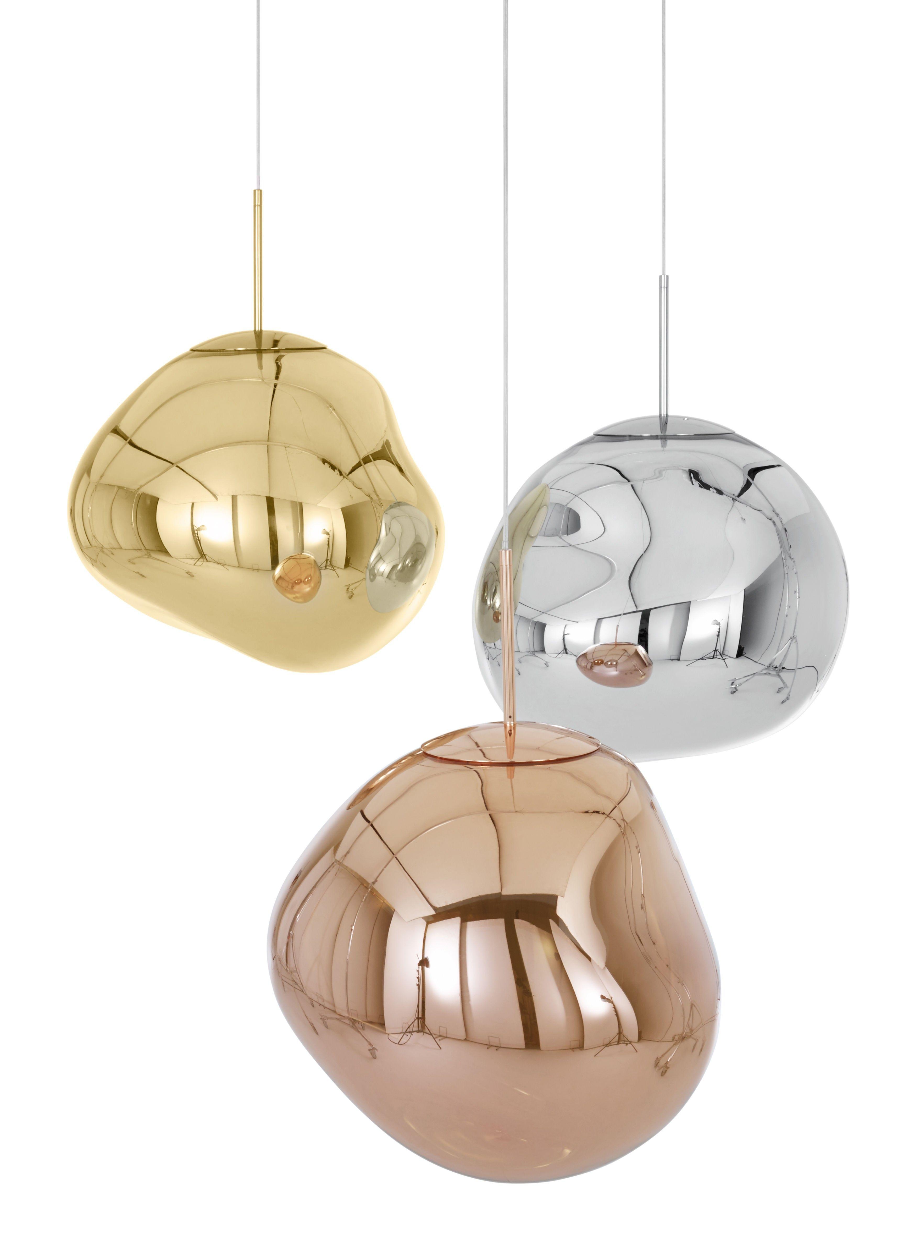 Melt Copper Tom Dixon Luminaire Luminaire Design Luminaire Suspendu