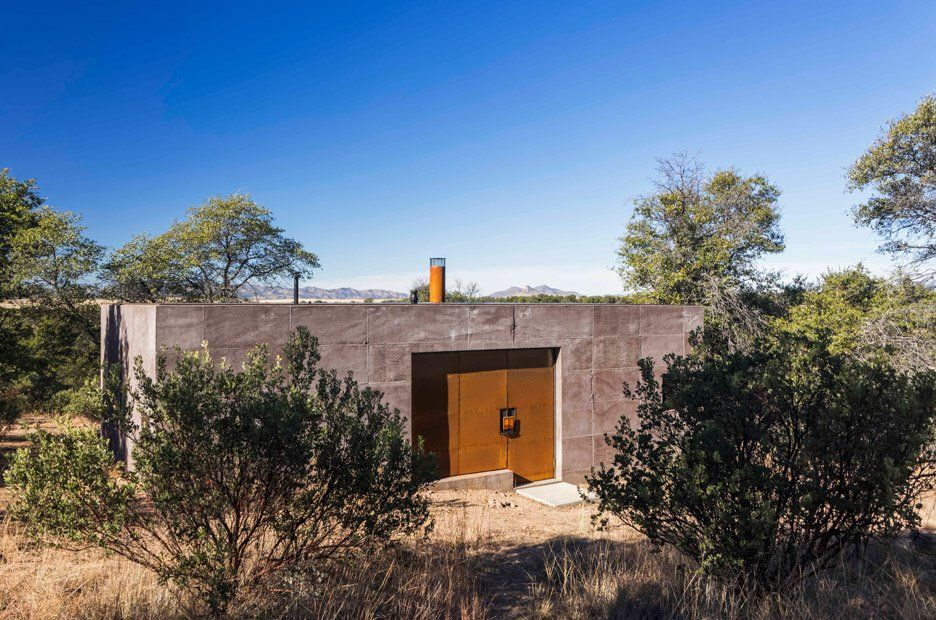 Casa Caldera By Dust Zombie Proof House Desert Homes Building A House