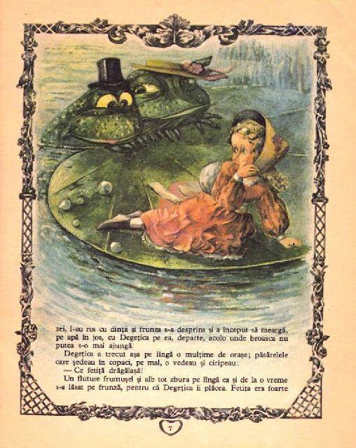 Doina Botez - Thumbelina illustrations