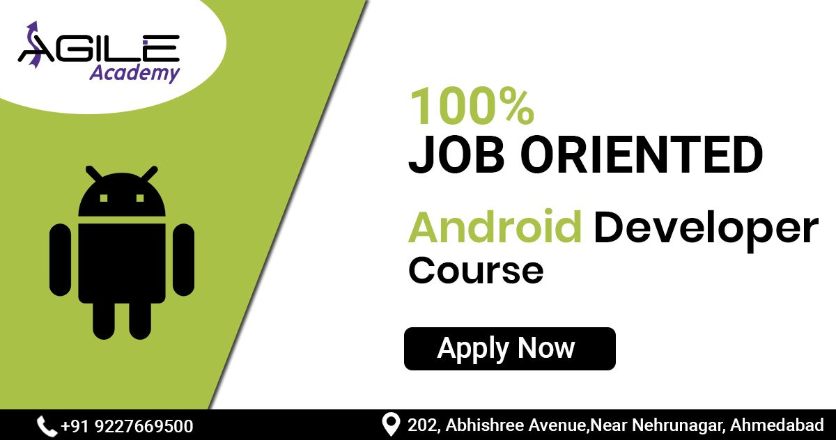 Android Course in Ahmedabad Job Community Developer