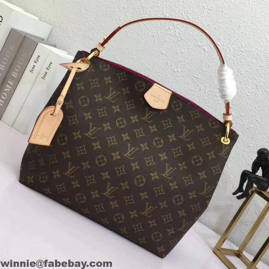 a378eb7bd6b5 Louis Vuitton Monogram Canvas Graceful PM Hobo Bag
