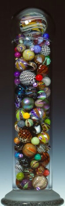 Marble Jar By Mark Matthews From His Population Portrait Series Marble Jar Glass Marbles Marble Art