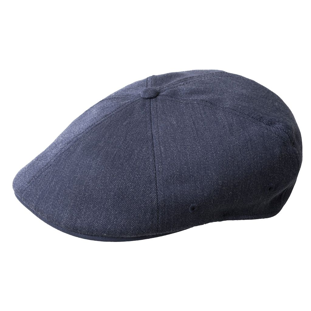 Men's Kangol Flexfit 504 Wool-Blend Flat Ivy Cap, Blue