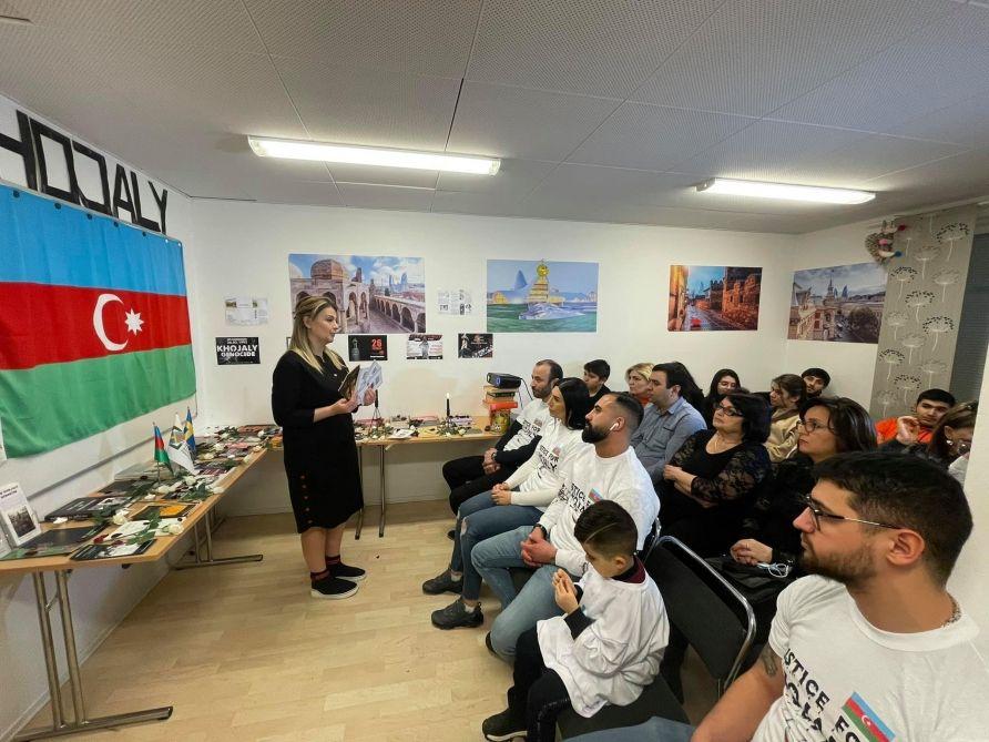 Isvecdəki Azərbaycan Diasporu Xocali Qurbanlarinin Xatirəsini Anib In 2021