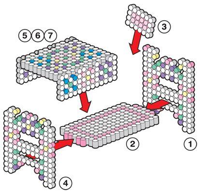 Best 25 perler beads instructions ideas on pinterest - Creation maison 3d ...