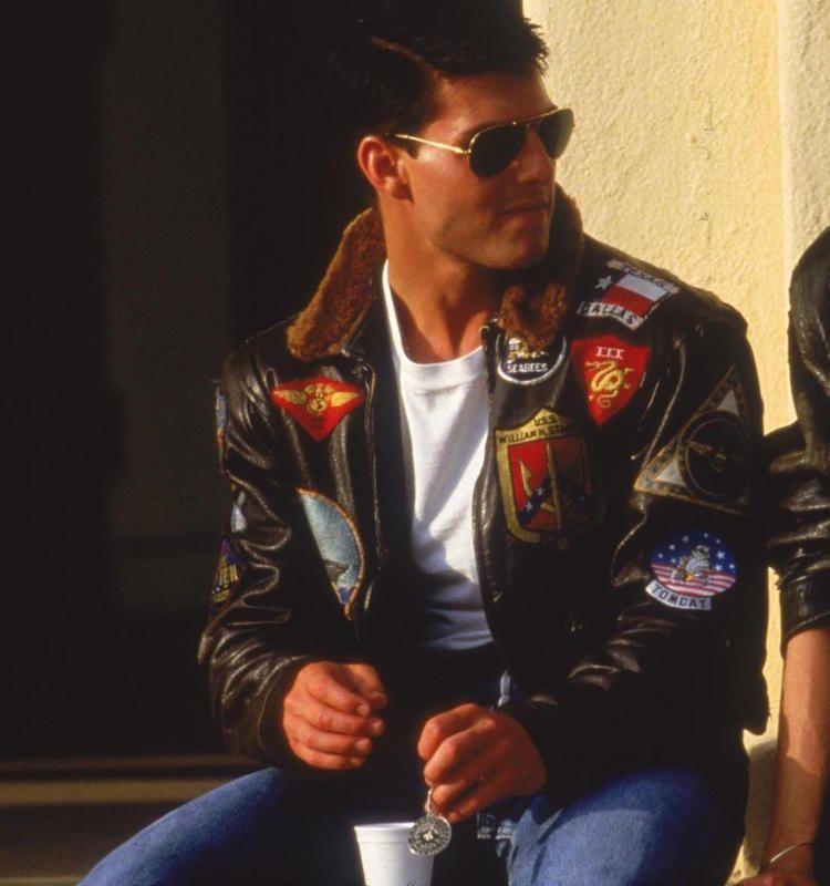 2cf231f9 Top Gun Men's Jet Fighter Bomber Navy Air Force Pilot Tom Cruise ...