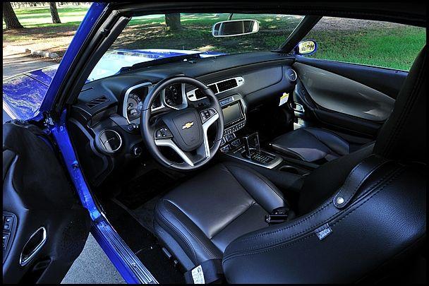 1969 Chevrolet Camaro Pro Touring 396450 HP 2012 Camaro Interior