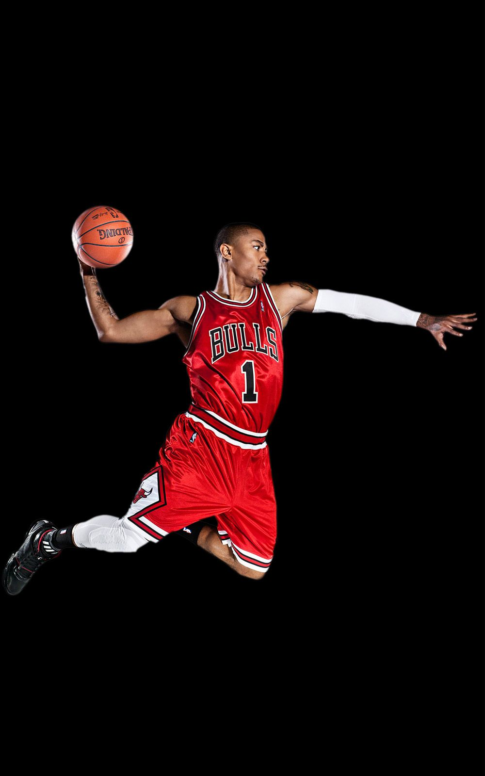 Chicago Bulls Derrick Rose Sports Red Number One Android Wallpaper