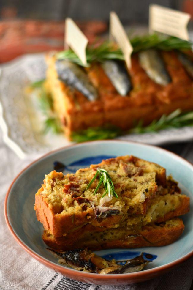 Sardines Cake with Dried Tomato