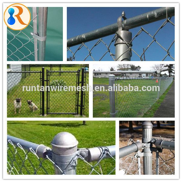 China Manufacturer High Quality Low Price Wholesale Chain Link Fence