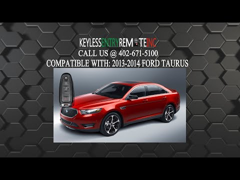 How To Change A 2013 2019 Ford Taurus Key Fob Remote Battery