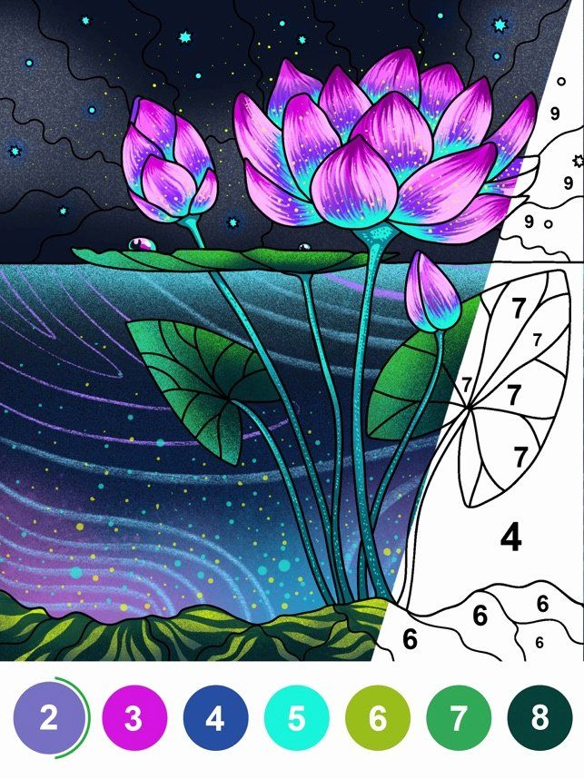 Paint By Number Coloring Books In 2020 Painting Coloring Books Coloring For Kids Free