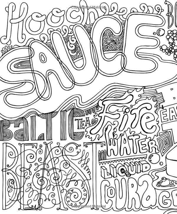Color Me Drunk : color, drunk, Coloring, Pages