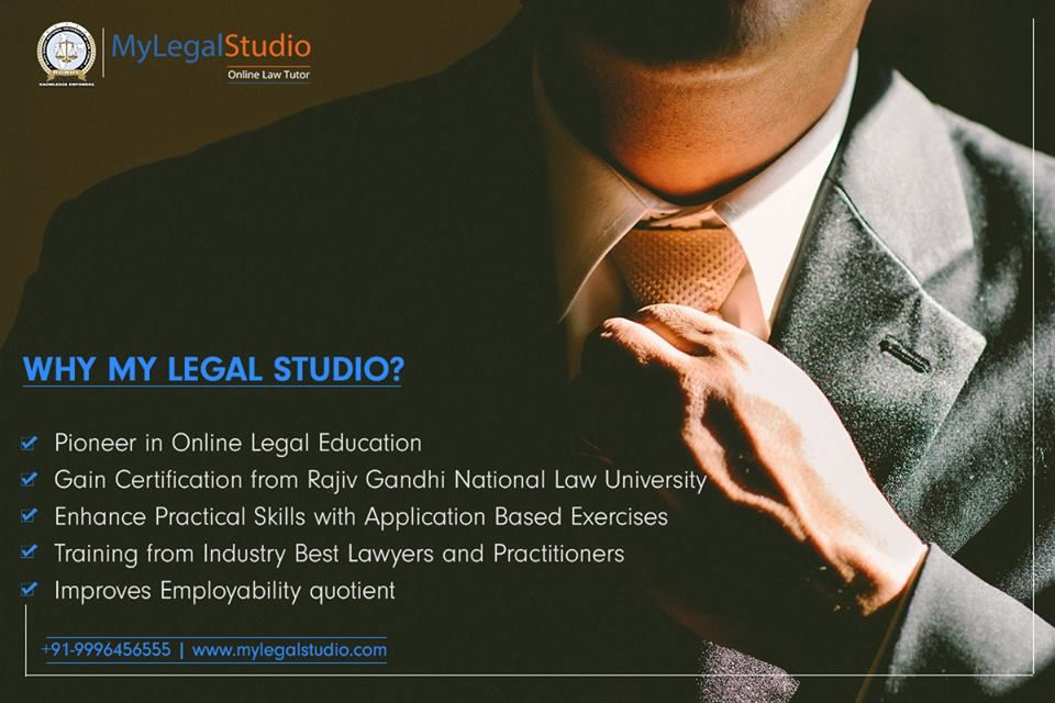 My Legal Studio Is The Best Online Law Education Portal Which