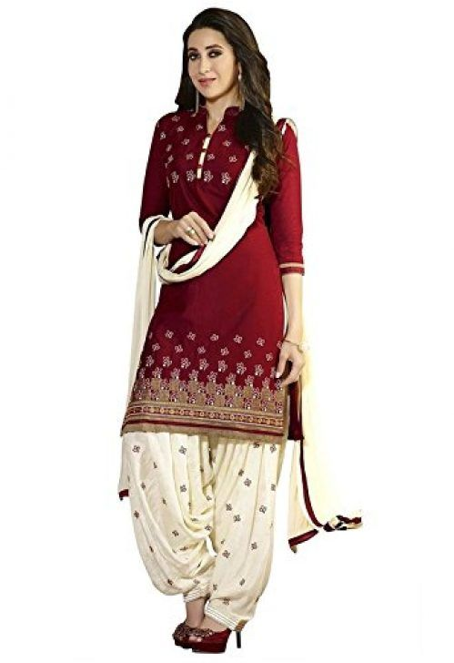 51a7a553dc Shiroya Brothers Womens Cotton Salwar Suit (Free Size) For Rs.199 At Amazon